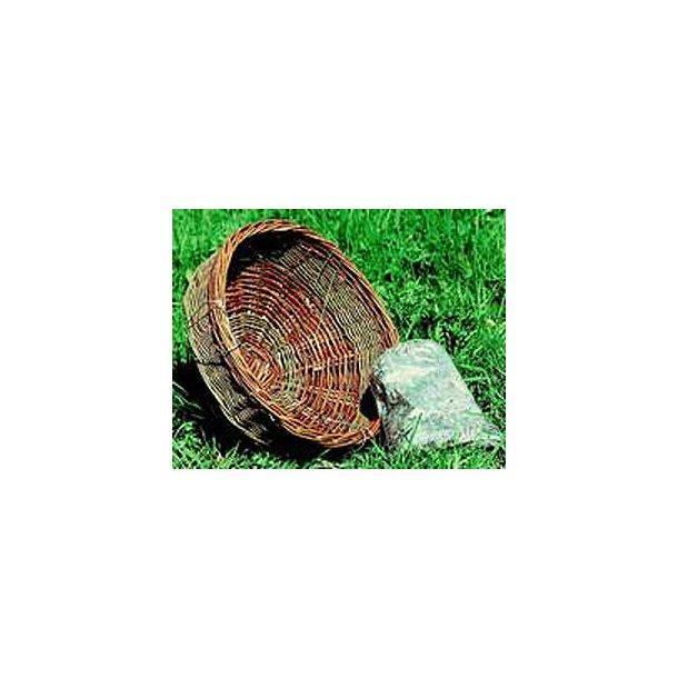 Tårnfalkerede, skovhornuglerede, Ø=40 cm